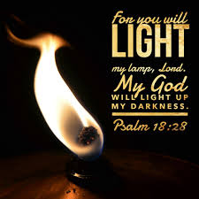 Light In The Darkness Bible Verse Psalm 18 28 Light My Lamp Free Bible Verse Art Downloads
