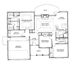 3 bedroom bungalow house plans