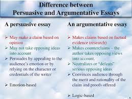 Argumentative Essay Argumentative Essay Writing Ppt Download