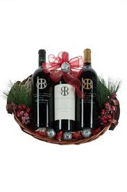 3 bottle napa cab basket