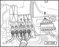 skoda workshop manuals > fabia mk2 > vehicle electrics s97 4588