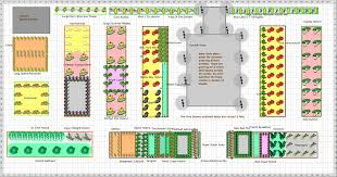 Small Picture Vegetable Garden Layout Plans Gardening Ideas