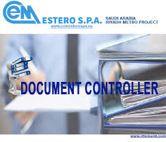 Job Profile Of Document Controller Work Abroad Document Controller Jobs In Saudi Arabia