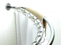 moen double curved shower rod curved double shower curtain rods double shower curtain rods ideas for