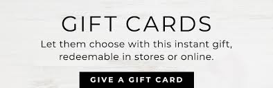 gift cards pottery barn