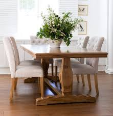 And Wide Farmhouse Style Dining Table In Traditional Dining