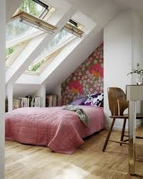 Pink And White Wallpaper For A Bedroom Cheerful Pink Small Bedroom Design Ideas Flower Pattern Bed Cover