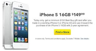 Best Buy Kicks f Another Free iPhone 5 Trade In Deal