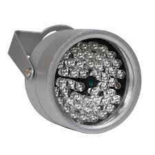 Led Night Vision Light 2019 850nm 48 Ir Led Infrared Illuminator Light Ir Night Vision For Cctv Security Cameras Fill Lighting Metal Gray Dome From Carkitscenter 16 69