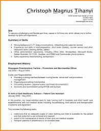 Stocklerk Resume Sample Job Skills Of A Grocery Store Clerk Resume