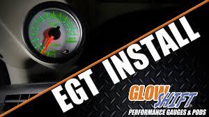 how to install an egt gauge