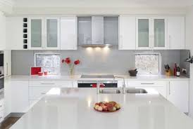 modern kitchen ideas with white cabinets. Wonderful White Popular Of Modern Kitchen White Cabinets And Entranching Design  Glossy Kitchens On In Ideas With