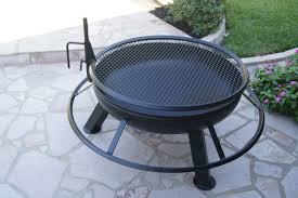 astonishing round metal fire pit grill ideas pict for bbq styles and files 969 15