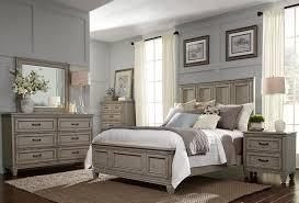 Grayton Grove Driftwood Panel Bedroom Set