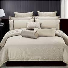modern leaves jaquard bedding set is