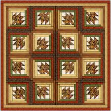 Maple Leaf Log Cabin Quilt Block Pattern Download – The Feverish ... & ... Maple Leaf Log Cabin Quilt Block Pattern Download ... Adamdwight.com
