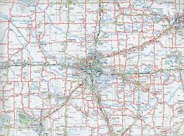 odot  highway map  central oklahoma