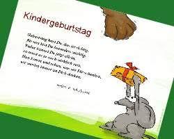 Kindergeburtstag Gedichte Und Sprüche Exklusiv Bei Gutschein Makerde