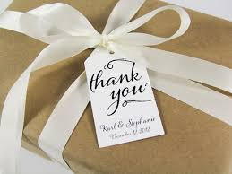 thank you tags for wedding favors thank you custom tags large size wedding tag wedding favor tag