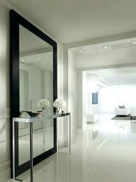 floor to ceiling mirrors for walls