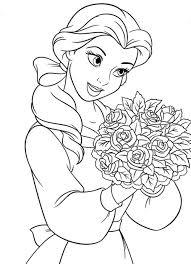 Disegni Da Colorare Principesse A4 Fredrotgans