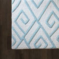 global views maze rug blue 5x8 contemporary area rugs by chachkies
