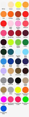 Siser Color Chart Easy Weed Vinyl Siser Easyweed Htv Color Chart Free