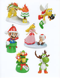 Nerdy Ornaments For ChristmasSuper Mario Christmas Tree