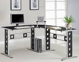 interesting home office desks design black wood. Full Size Of Interior:cool Home Office Desk Modern L Shape Metal Desks With Interesting Design Black Wood