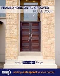 this framed horizontal grooved pair house door manufactured by doorzone doorzonesa