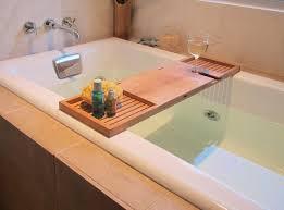 teak wood bathtub reading tray and food with wine holder for bathroom furniture accessories ideas plus purple themes mission style bedroom set