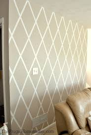Small Picture How to Paint a Diamond Accent Wall using ScotchBlue Painters Tape