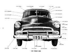1951 Chevrolet Master Parts & Accessories Catalog | Chevrolet Full ...