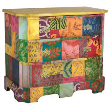 tropical painted furniture. handpainted pattern chest belle escape hand painted tropical furniture p