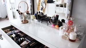 my make up collection make up vanity tour