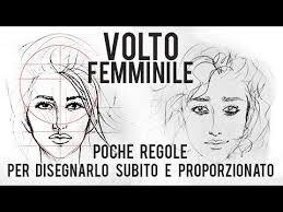 Tutorial Viso 12 Come Disegnare Un Volto Femminile Con Semplici