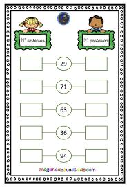 Matemáticas: Nº anterior y posterior – Imagenes Educativas