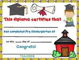 Prek Diploma Prekindergarten Diploma Editable Pre K Diploma By Bilingual Teacher