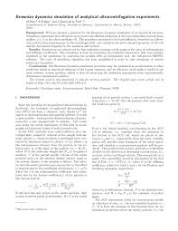 American Institute Of Physics Default Template For Aip Articles