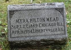 Myra Fisk Hilton Mead (1869-1954) - Find A Grave Memorial