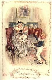 persuasion by jane austen volume i chapter vi  c e brock illustration