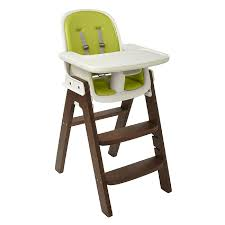 ideas collection sprout high chair green walnut easy portable high chair target