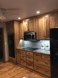 Hickory Wood Cabinets K2