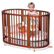 Not only is this a smaller crib, but the circular shape saves on space (no  space-eating corners here!) In my dream of dreams, this crib was in our ...