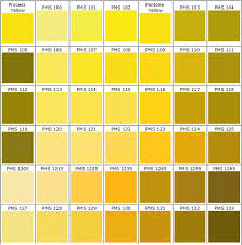 Shades Of Yellow Color Chart Pin On Undertale Inspiration