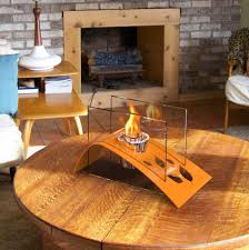 terrific outdoor coffee table with fireplace