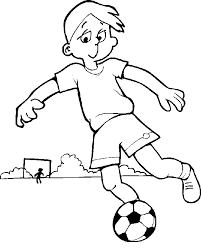 Soccer Coloring Pictures Kids Coloring Pages Printable Clip
