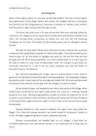 Tips On Writing A Narrative Essay Writing A Narrative Essay Examples Ppt