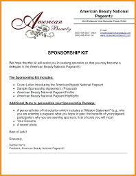 Sample Letter For Event Proposal Template Sponsorship Request Letter Template For Events 8 Event