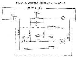 building a three phase converter in general stop buttons are wired in series and start buttons are wired in parallel note that wires a b c d are quite long approx 60 feet in this case